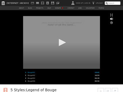 5 Styles: Legend of Bouge