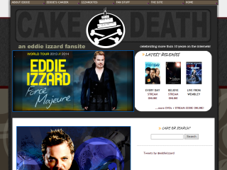 Cake or Death? An Eddie Izzard Site