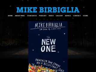 The Offical Website of comedian Mike Birbiglia