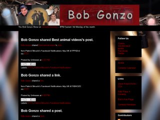Official Bob Gonzo Website