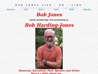 Bob Jones: Humorist, Columnist, Poet