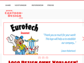 www.Cartoon-Design.com: Logodesign, Maskottch