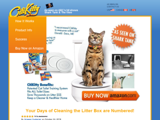 Toilet Train Your Cat With CitiKitty
