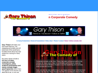 Comedy of Gary Thison Stand Up Video