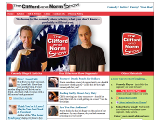 Clifford and Norm Show Comedy Satire Talk