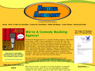 Hysterical Management - Comedy Booking Agency