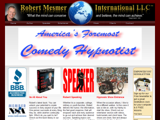 Mesmer, America's Foremost Comedy Stage hypnotist