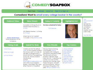 Comedy Soap Box