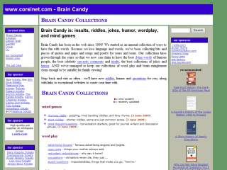 Brain Candy Insults Riddles Jokes
