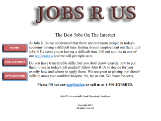 Jobs R Us - Outrageous Job Ads
