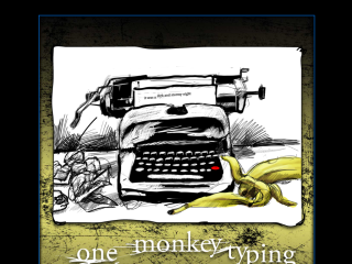 One Monkey Typing