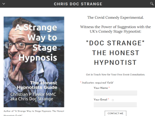 Comedian Hypnotist Doc Strange, Comedy, Magic UK Based