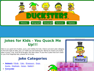 Ducksters Jokes for Kids