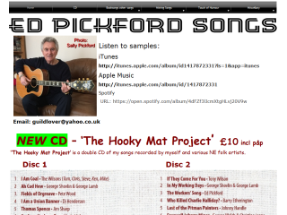 Ed Pickford Songs