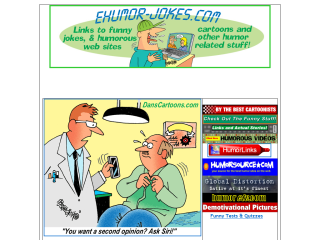 Humor & Jokes /  offering daily cartoons