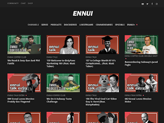 ennui tv - don't die of boredom!