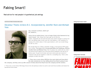 Faking Smart! in Corporate America