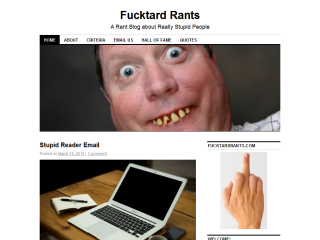 Fucktard Rants