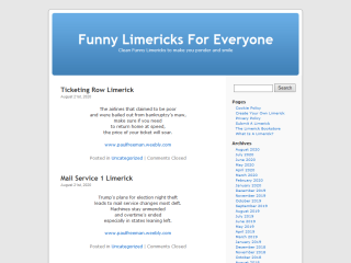 Funny Limericks For Everyone