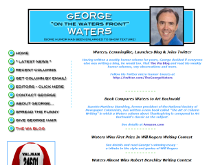 George Waters - Humor Columnist