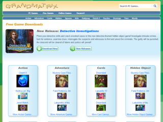 GrandMatrix - Free online games and puzzles plus download jigsaws.