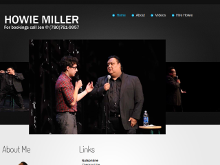 Howie Miller's official web site