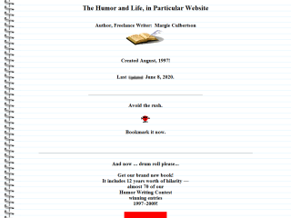The Humor and Life, in Particular Website