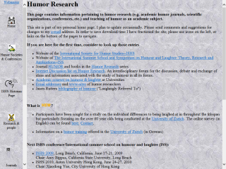 Humor Research