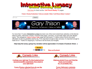 Interactive Lunacy Online Comedy Club
