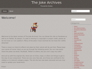 The Joke Archives  | Thousands of Jokes