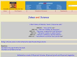 Jokes and science