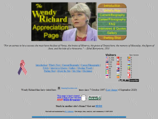 The Wendy Richard Appreciation Page