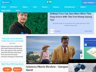 Kidzworld - Kid & Teen Site
