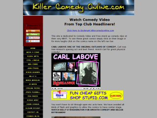 Free Stand Up comedy Clips