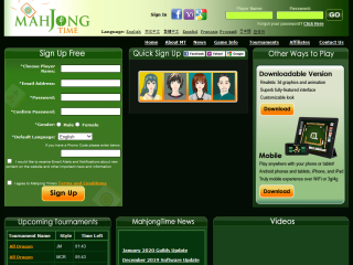 Mahjong Time-an online games version