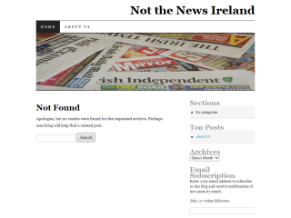 Not The News Ireland