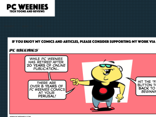 The PC Weenies Cartoon