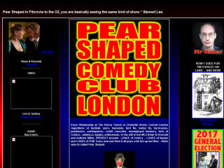 Pear Shaped Comedy Club - London