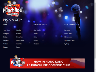The Punchline Comedy Club -- Hong Kong