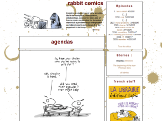 the rabbit's online humor daily comic strip