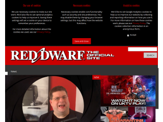 Red Dwarf: The Official Website