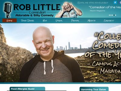 The OFFICIAL Site for Comedian Rob Little