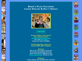 Benny's Place featuring Louise English and Hill's Angels
