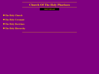 Church of the Holy Pharisees