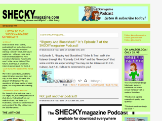 SHECKY! A magazine about standup