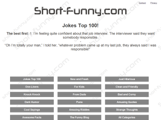 Short and Funny Jokes