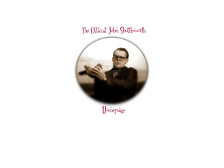 The Unofficial John Shuttleworth Interweb Homesite