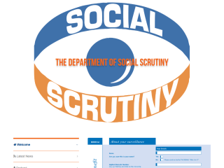 Department of Social Scrutiny