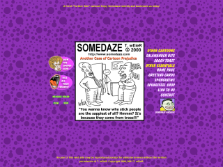 Amusing and Beyond, SOMEDAZE Cartoons