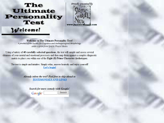 Ultimate Personality Test